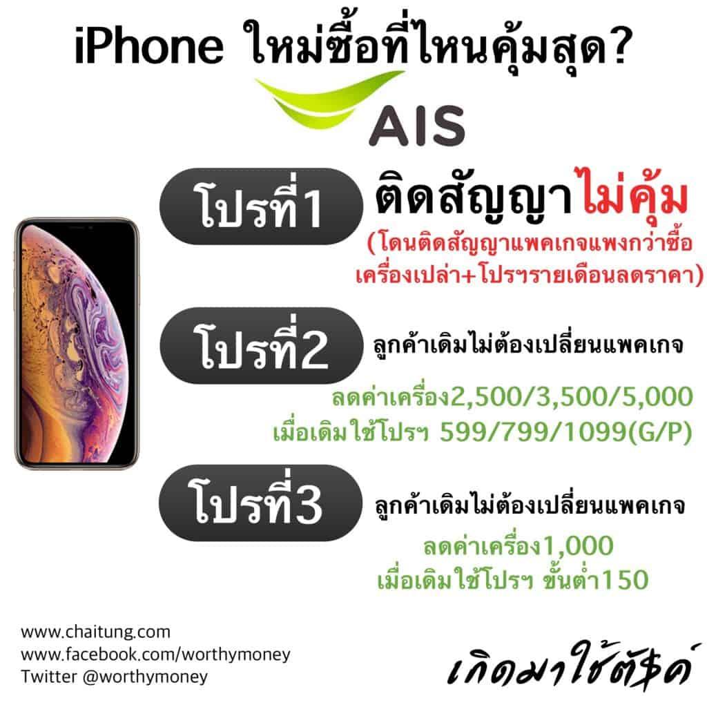 iPhone Xs , Xs MAX , Xr AIS