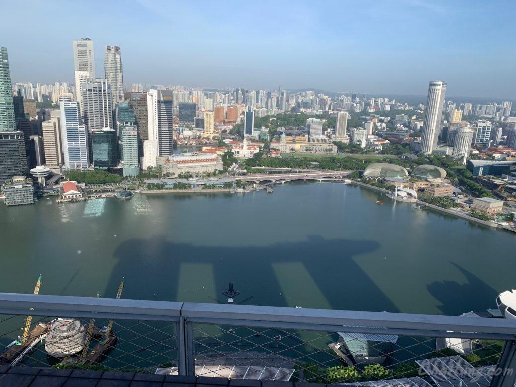 Marina Bay Top view