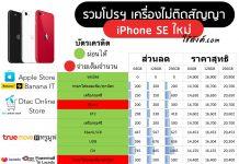 iPhone SE 2020 Table Summary